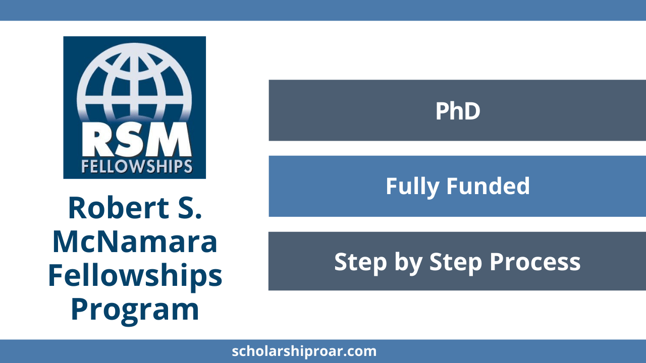 Robert S. McNamara Fellowships Program