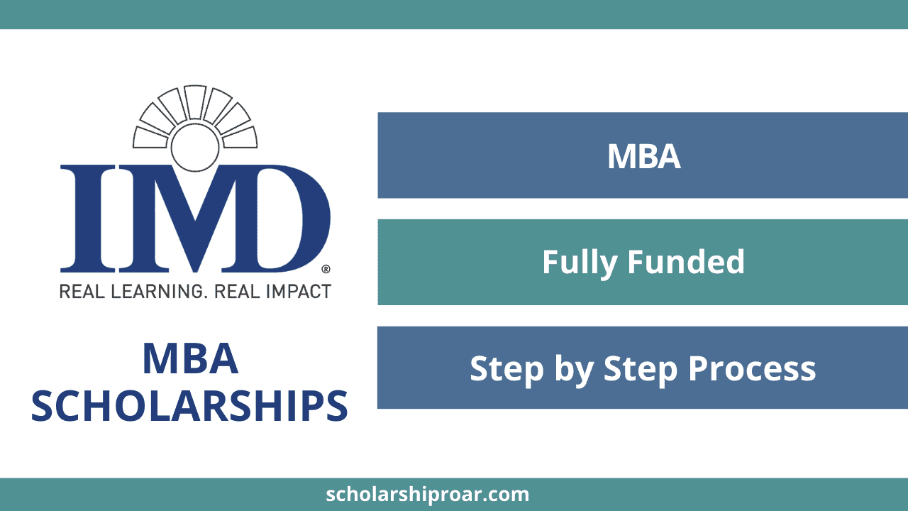IMD MBA Scholarships
