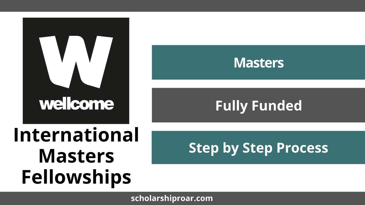 Wellcome International Masters Fellowships