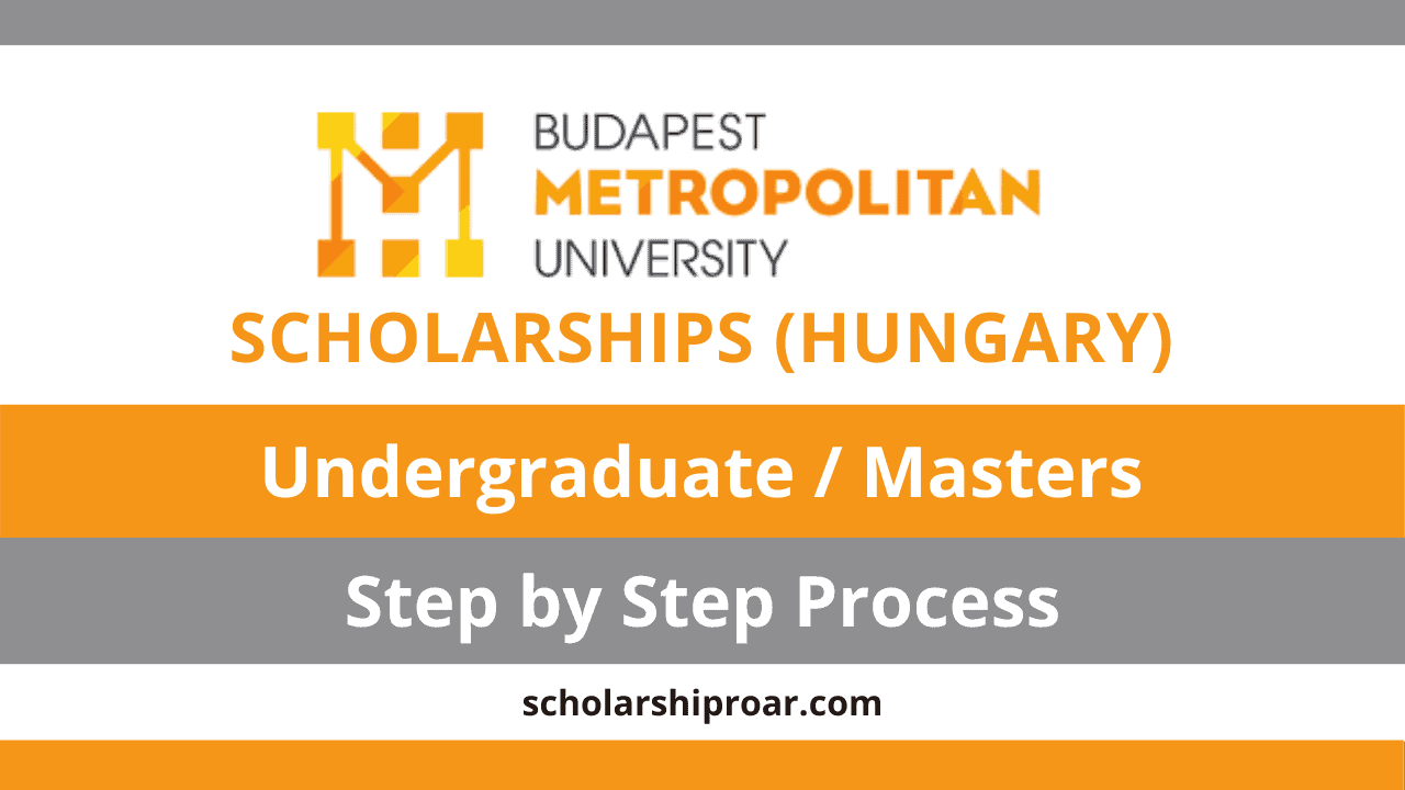 Budapest Metropolitan University Scholarships