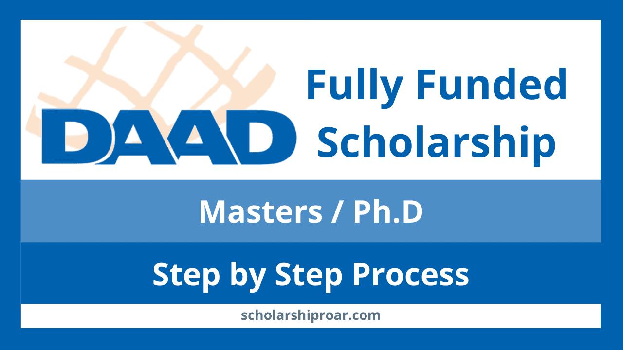 Daad scholarships
