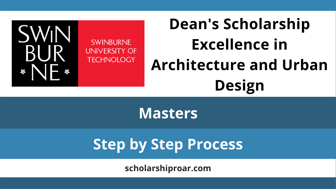 Dean's Scholarship Excellence in Architecture and Urban Design