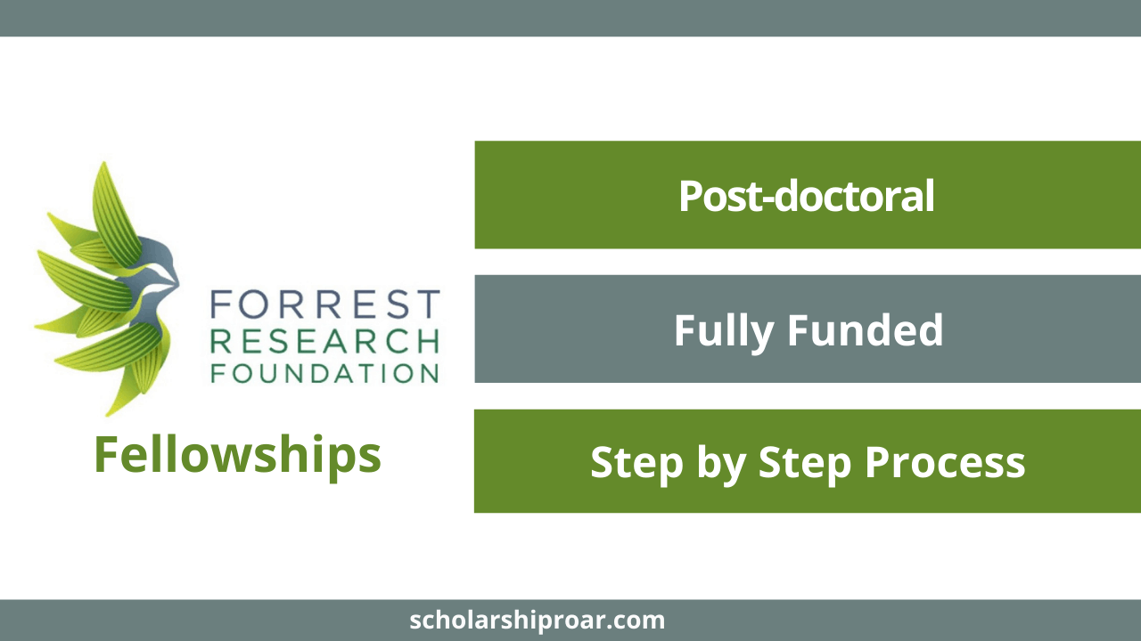 Forrest Research Foundation Fellowships