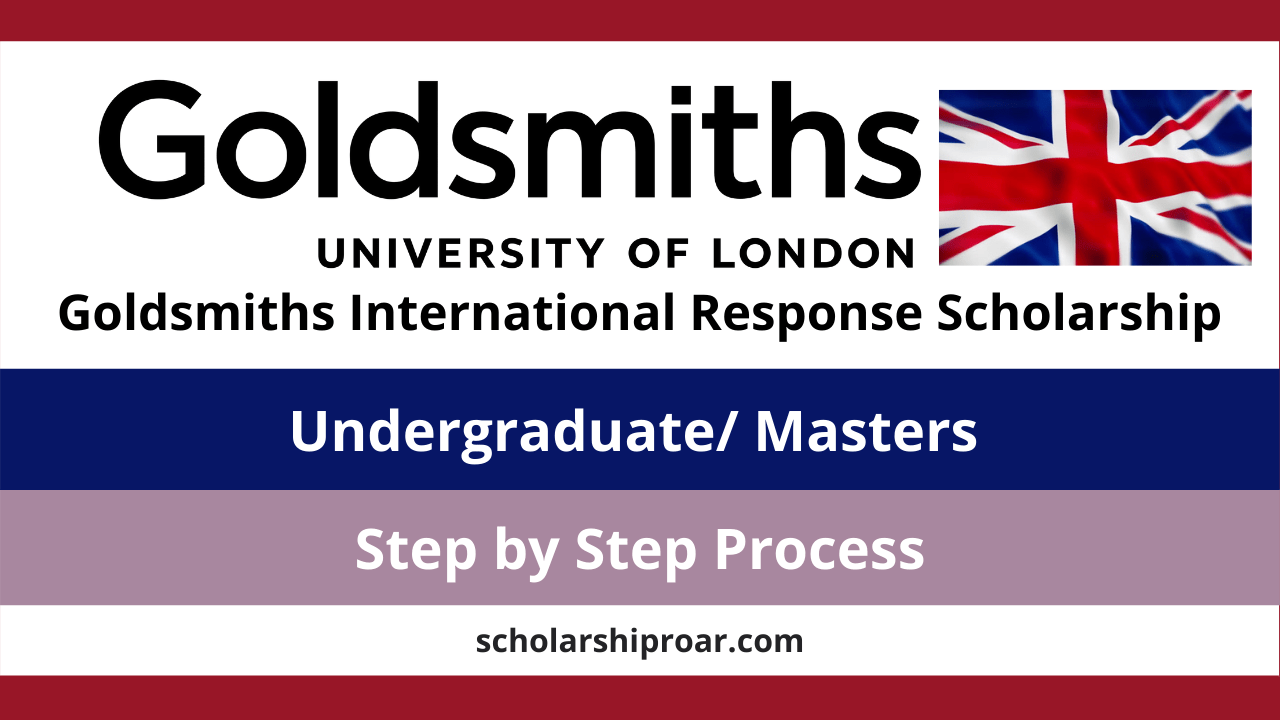 Goldsmiths International Response Scholarship