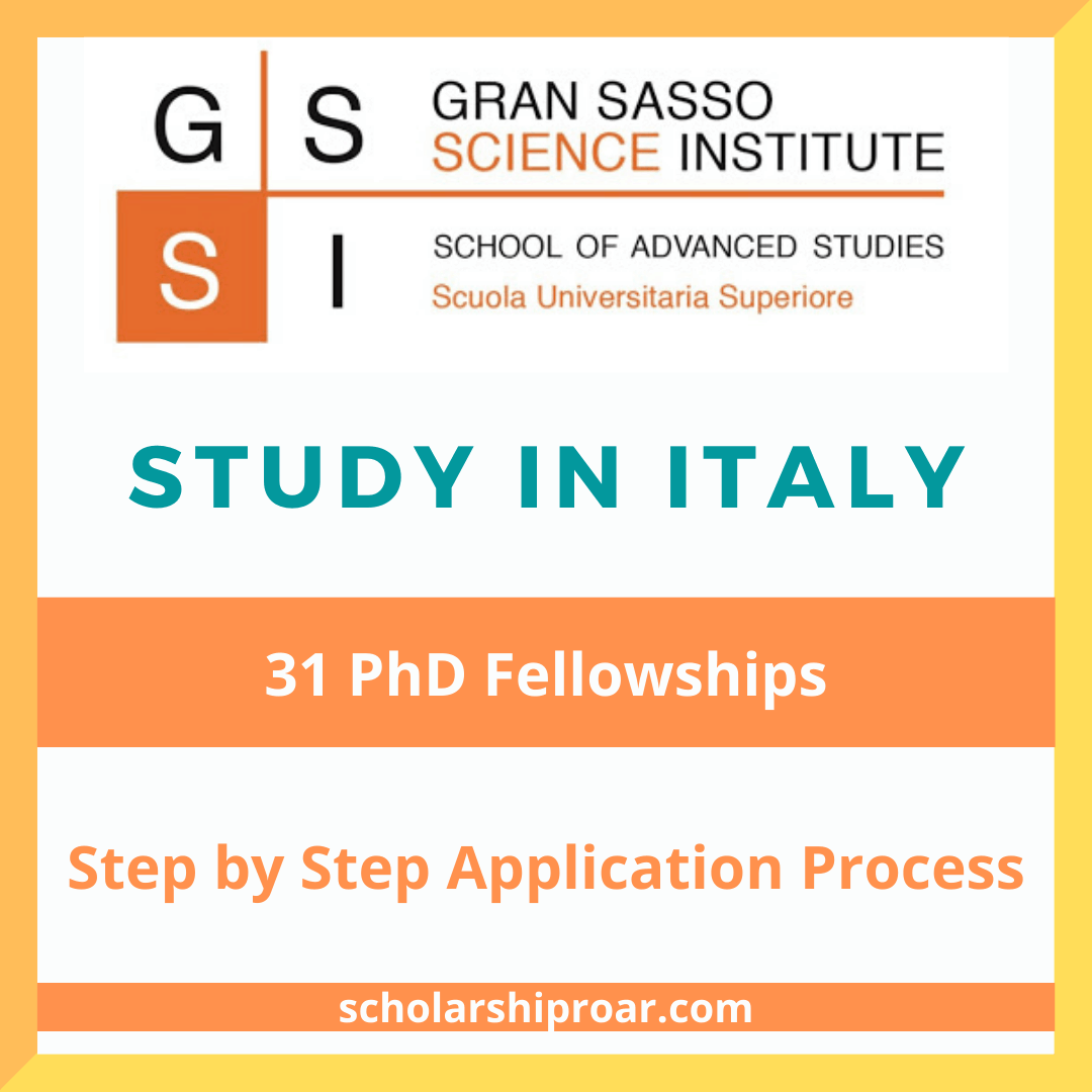 Gran Sasso Science Institute PhD Program