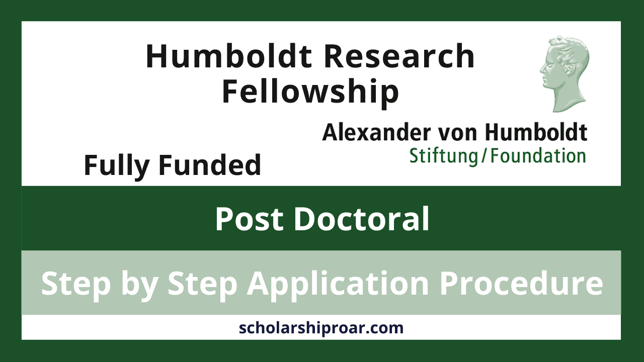 Humboldt Research Fellowship