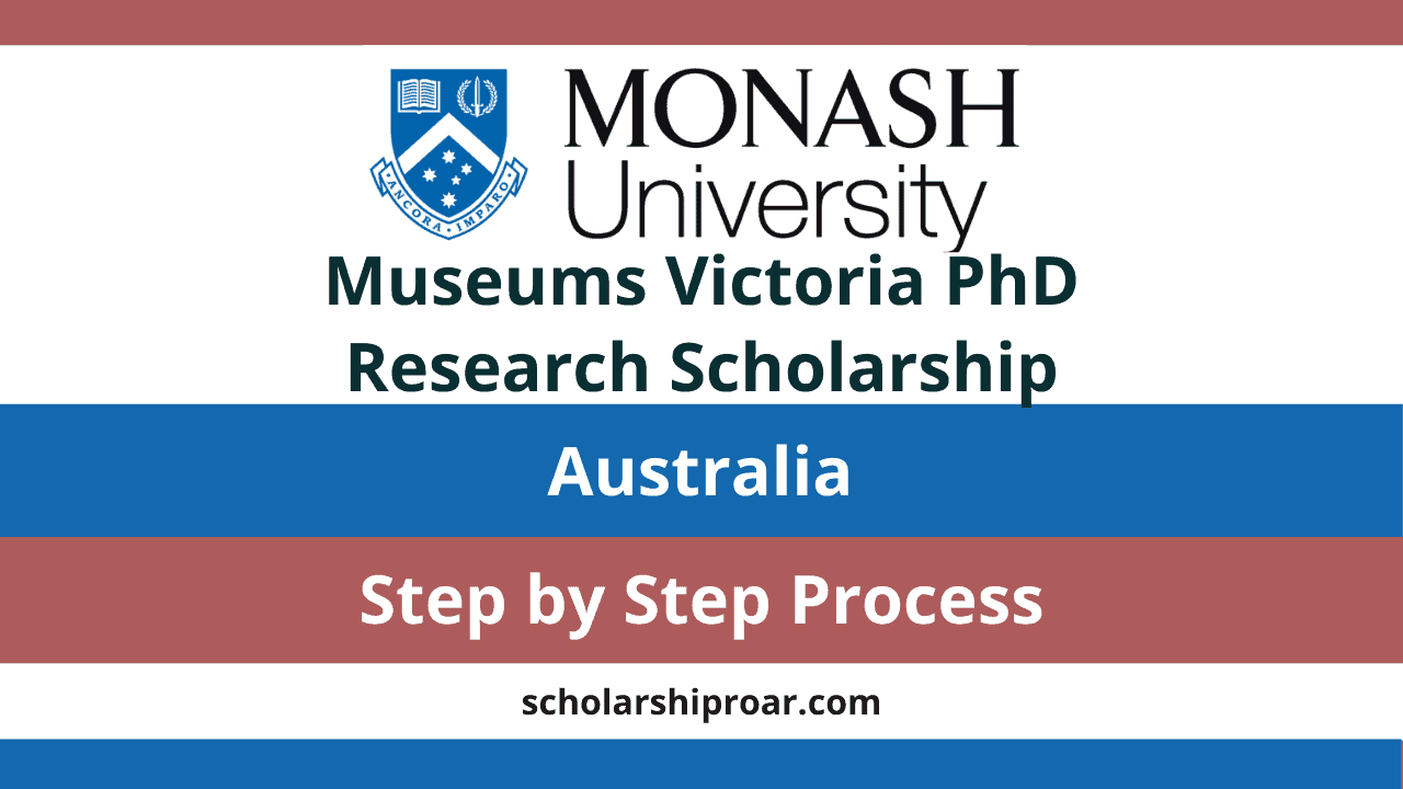 Monash University - Museums Victoria PhD Research Scholarship