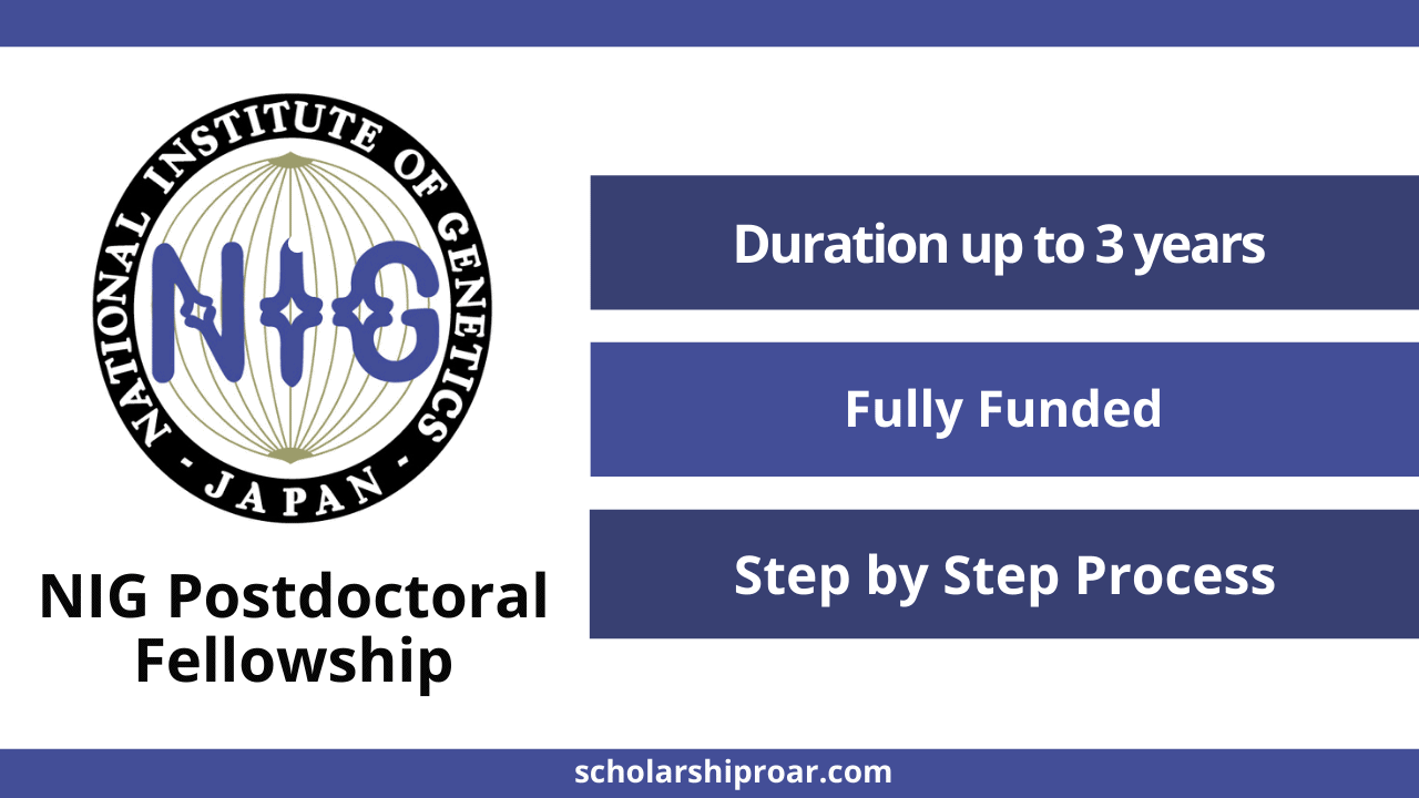 NIG Postdoctoral Fellowship