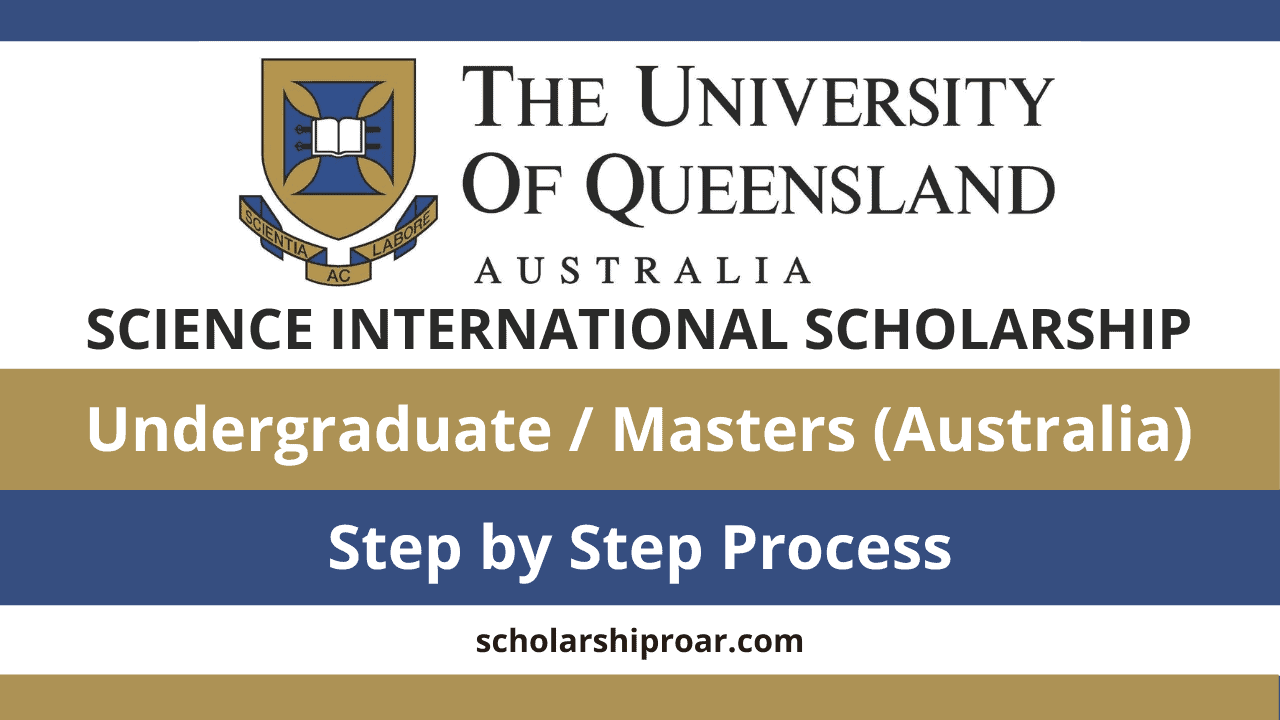 Queensland University Science International Scholarship