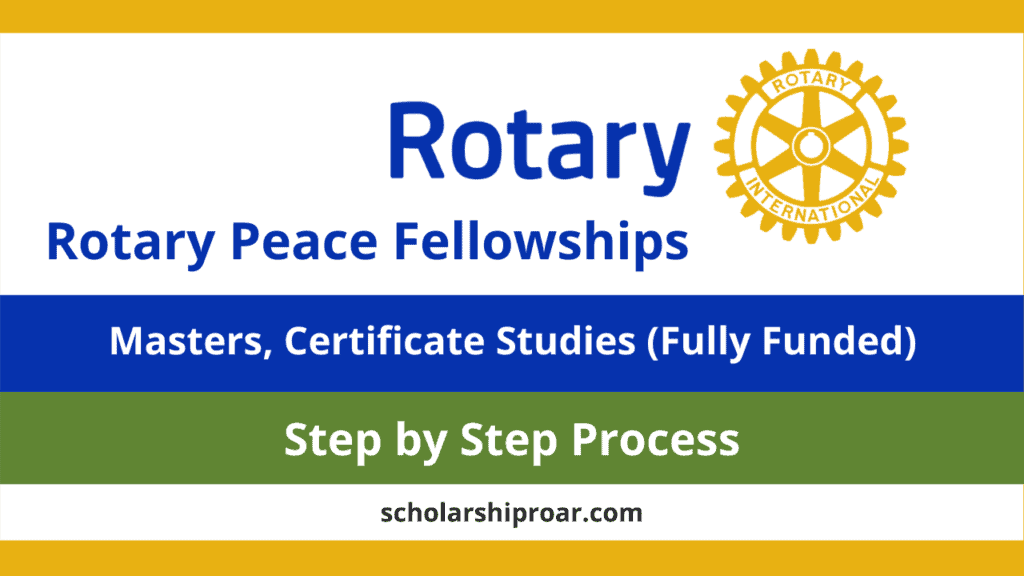 Rotary Peace Fellowship Program