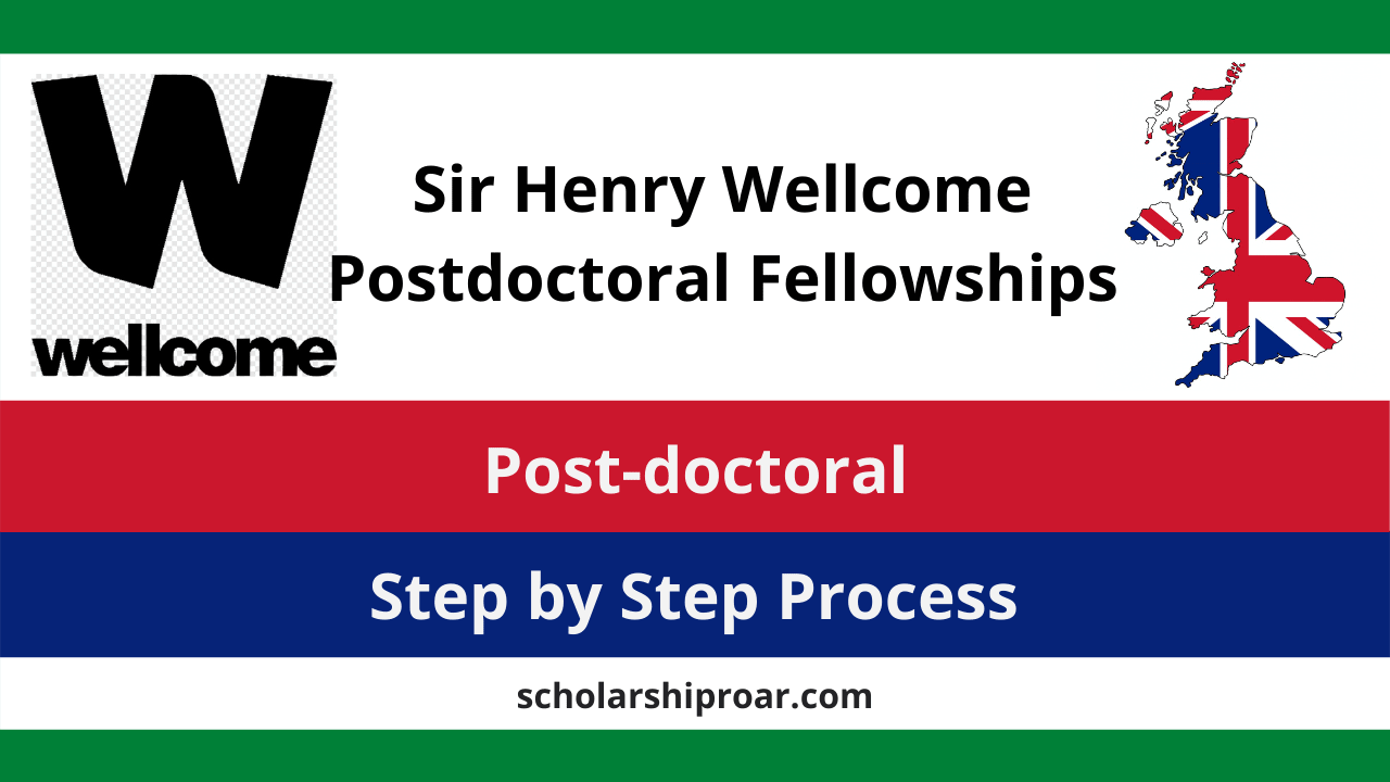 Sir Henry Wellcome Postdoctoral Fellowships