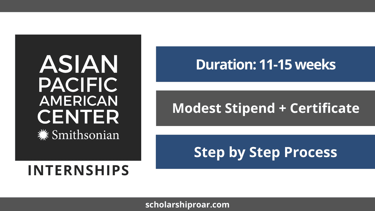 Smithsonian Asian Pacific American Center Internships