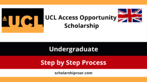 UCL Access Opportunity Scholarship