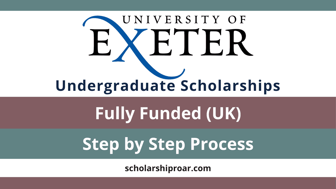 University of Exeter Undergraduate Scholarships