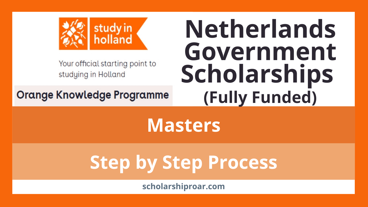 Netherlands Government scholarships