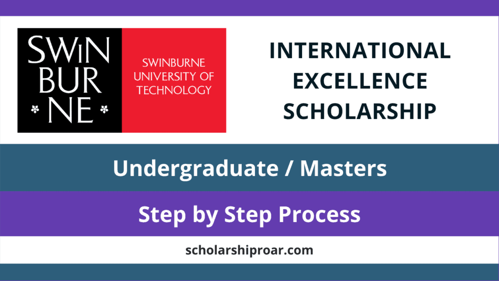 Swinburne International Excellence Scholarship