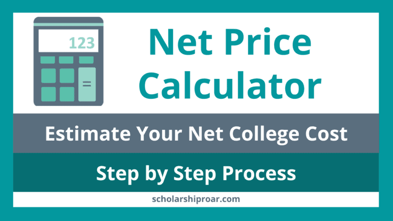 How to use a Net Price Calculator