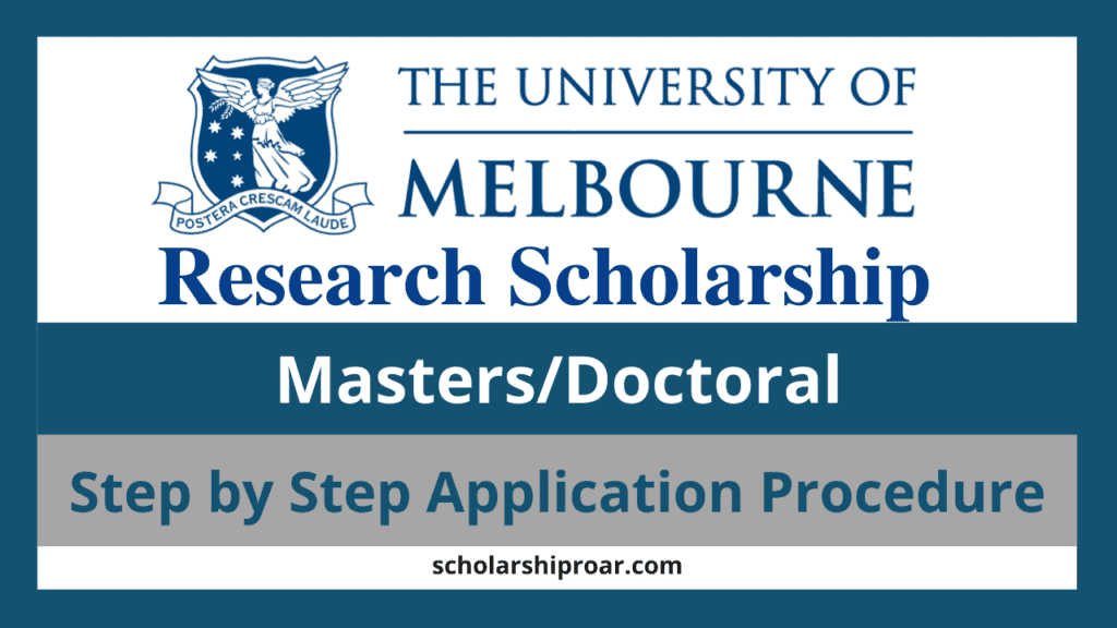 Melbourne Research Scholarships