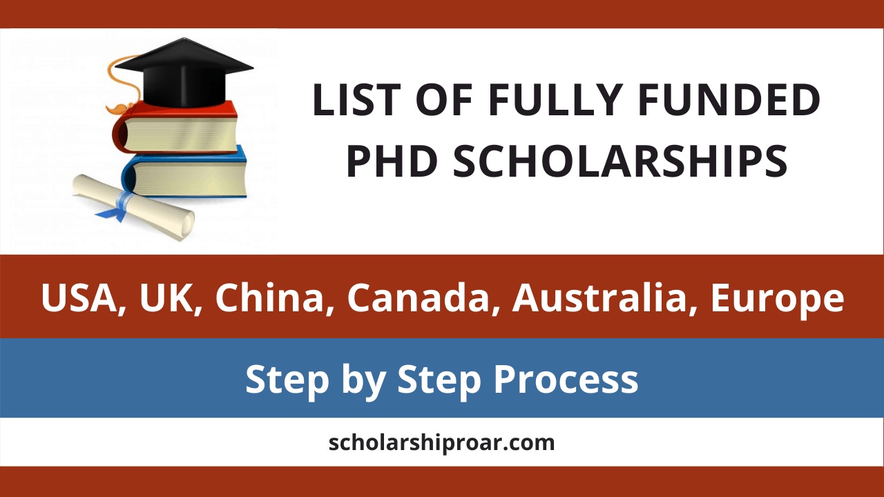 Fully Funded PhD Scholarships