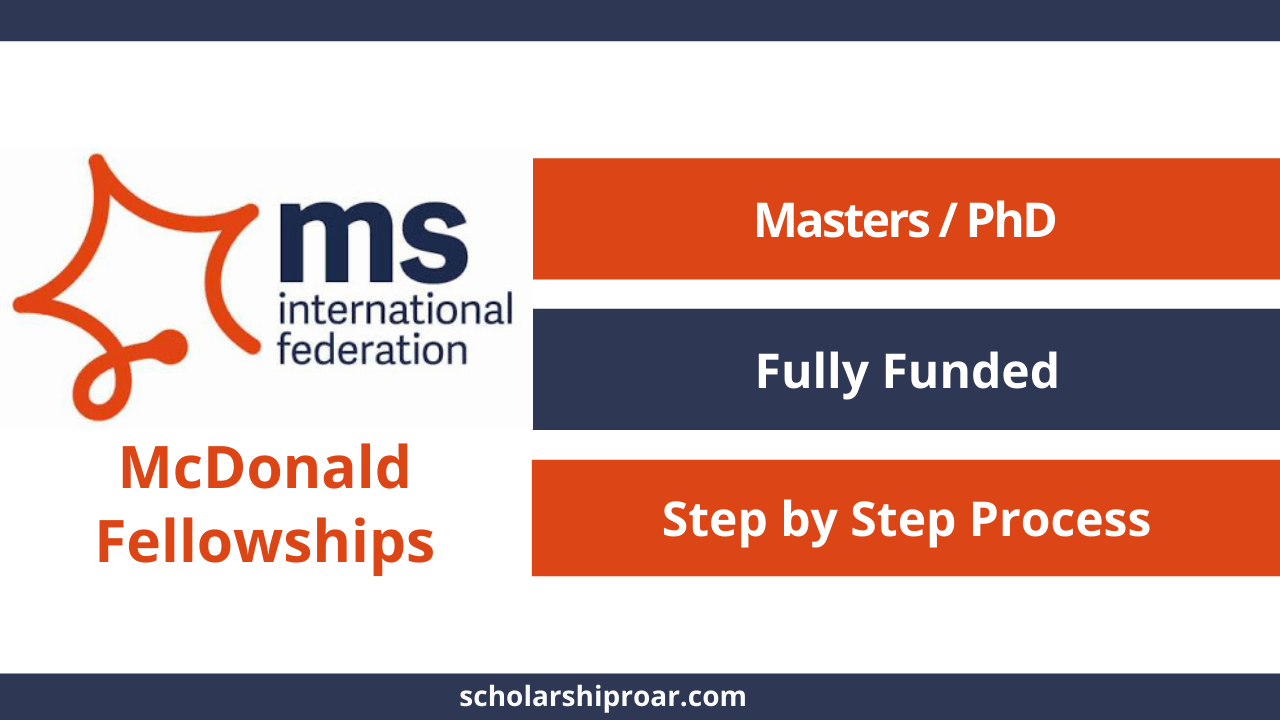 McDonald Fellowships