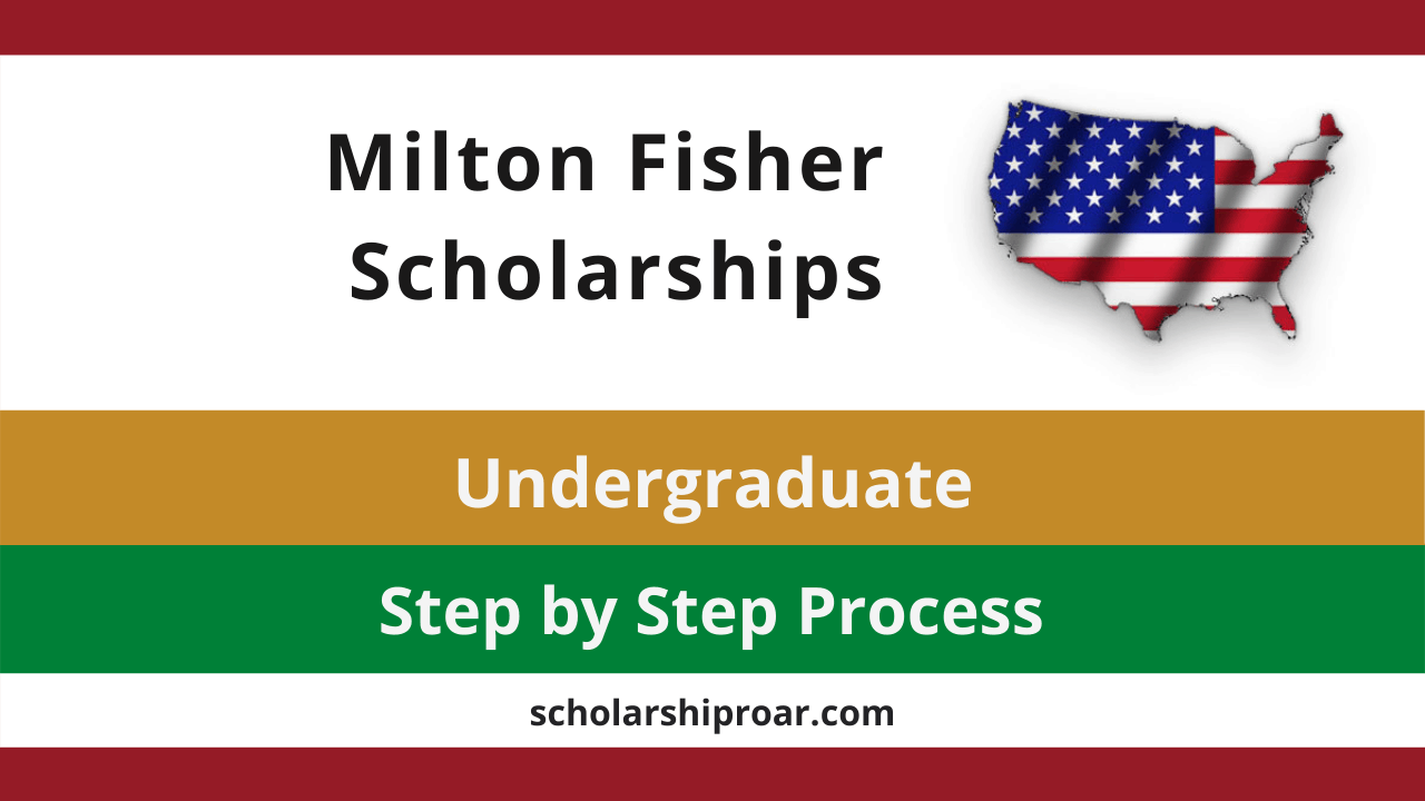Milton Fisher Scholarship
